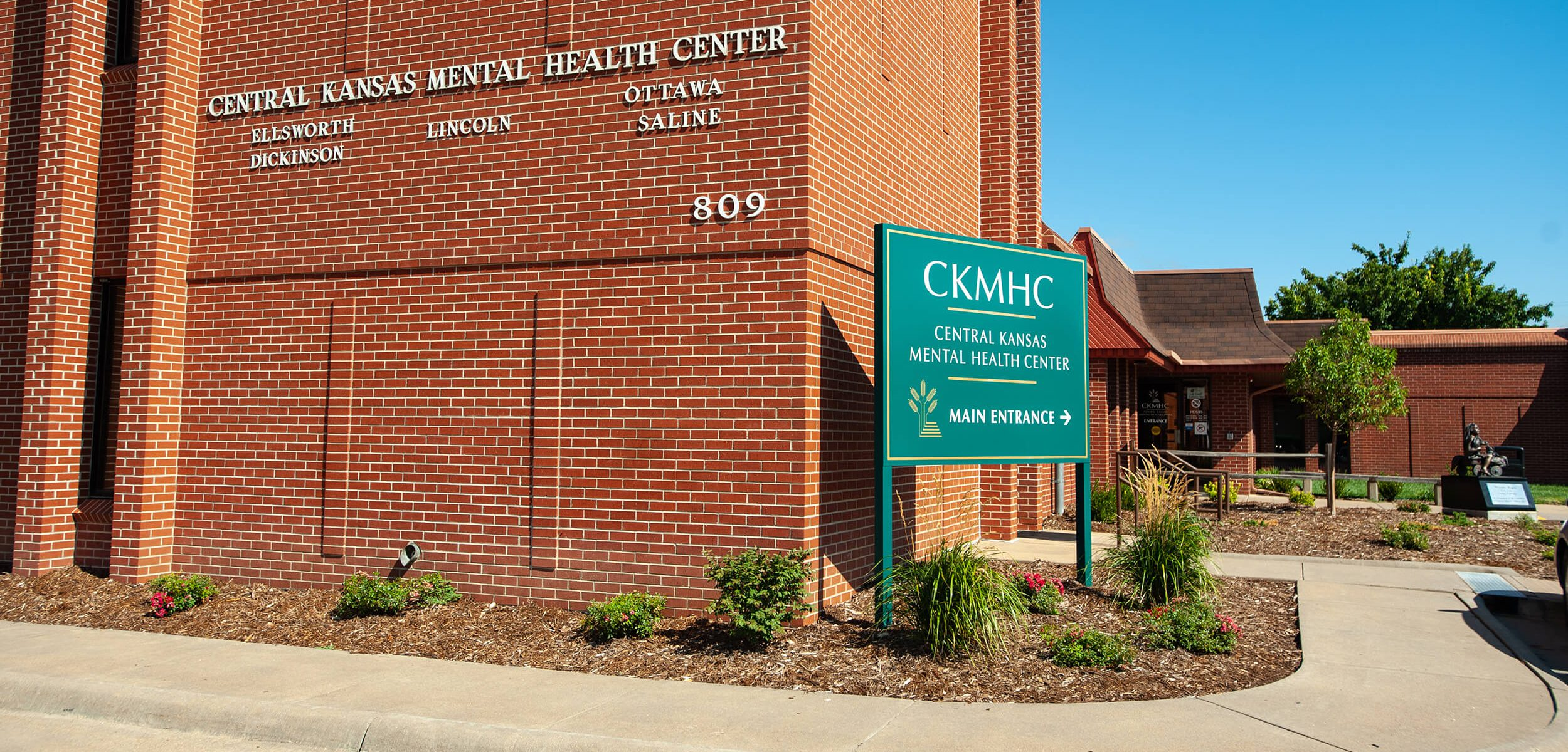 Central Kansas Mental Health Center building